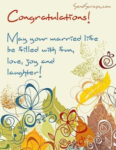 Wedding wishes 50th anniv cards pinte happy wedding wishes messages congratulations may your married life be filled with fun love joy m4hsunfo