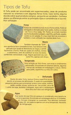 Universo dos Alimentos²: Os tipos de Tofu