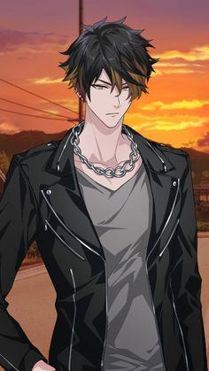 Cool Anime Guys, Hot Anime Boy, Handsome Anime Guys, Anime Oc, Dark Anime, Manga Anime, Cute Characters, Anime Characters, Space Anime