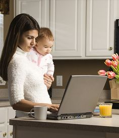 set up an online business and work from home.