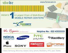 Multibrand mobile repair center in Mumbai. Visit http://fonecare.tumblr.com/ for details