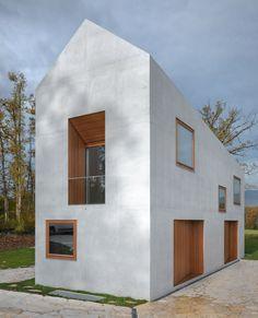 Two In One Villa by clavienrossier // http://www.swiss-architects.com/de/clavienrossier/en/