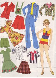 Бумажные куклы моего детства / Бумажные куклы / Бэйбики. Куклы фото. Одежда для кукол