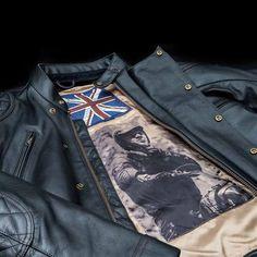 Steve McQueen Desert Racer Leather Jacket | Triumph Motorcycles | #design