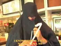 How to eat and other things in a burka