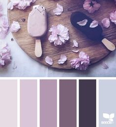 { chilled tones } image via: 051616 More Design Seeds color palettes . posted daily for all who love color.