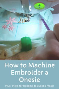 Embroidery Machines, Machine Embroidery Projects, Embroidery Scissors, Embroidery Software, Embroidery Applique, Embroidery Designs, Cute Gifts, Baby Gifts, Embroidery For Beginners