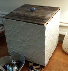 Pressed Tin box