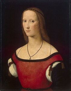 Lorenzo Costa. (Between 1500 and 1506). Portrait of a woman. Retrieved 29 October, 2016, from https://commons.wikimedia.org/wiki/File:Lorenzo_Costa_008.jpg