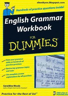 Learn english englishpix on pinterest free ebooks english grammar workbook for dummies fandeluxe Choice Image