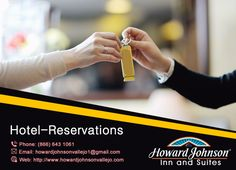 Howard Johnson Inn & Suites are providing reservation facility. Choose your own favorite room and enjoy http://goo.gl/hDJkp1