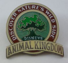 Pin: Animal Kingdom pin from the 2010 season passholder exclusive set, A World of Wonderment. (Style looks like vintage World's Fair ads of the early 20th century.)