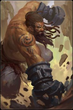 The Ox - a mighty warrior from Rasheman who came to study martial arts
