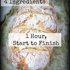 Homemade bread Recipes: 1 hour no-fuss French bread recipe. Homemade bread Recipes: 1 hour no-fuss French bread recipe. Cuisine Diverse, Naan, Bread Baking, Baking Recipes, Easy Bread Recipes, Artisan Bread Recipes, Italian Bread Recipes, Freezer Recipes, Bread Flour Recipes