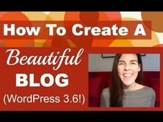 http://77webstudio.com Learn how to create a website and blog using the AMAZING WordPress 3.6. No coding experience required. Learn step-by-step from scratch. Enjoy. http://www.youtube.com/watch?v=DxlLibzteHs