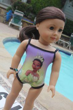 NEW - American Girl Doll Swimsuit/Leotard - Princess