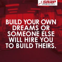 Don't just dream about it, be about it! Be your own boss with Snap Fitness. We provide you with all the tools and guidance to open a successful club.