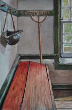 2013 Still Life #17, painting by artist Andy Smith