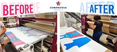 Our Calandra Machine for sublimation on fabric roll or fabric piece, after just cut or immediately do the clothes! No washing or other process required.  #manufacturer #barcelos #sweat #colours #tshirt #cotton #comprensa #fashion #model #fashion #design #company #textile #portugal #sublimation #screenprinting #digitalprint #laser #photoprint