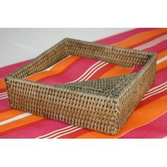 Porte-serviette de table à papier carré