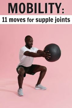 Mobility maneuvers help keep joints supple so that you move better, have better posture, and reduce injury risk. This workout will help. Video included.  #mobility #over50 #stretching #flexibility #joints #overfiftyandfit #posture #workout Wellness Fitness, Physical Fitness, Fitness Tips, Fitness Motivation, Health Fitness, Men Health, Men's Fitness, Muscle Fitness, Gain Muscle