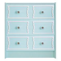 Show details for DeeDee 6 panel O'verlays Kit for IKEA RAST (3 drawer)