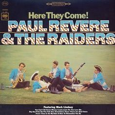 paul revere and the raiders album covers | paul revere the raiders here they come the original