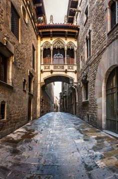 Barcelona's Gothic Quarter is on top of most tourists' list, and rightfully so. With so much beautiful architecture, some genuinely old, some altered throughout the centuries, and even some outrageous buildings which pretend to be old, this is a quarter that should be explored with a knowledgeable guide.