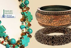 copper and turquoise jewelry