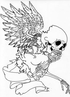Skull-coloring-pages-skull-skull-tattoo-tattoo-designs-tattoos-art-tattoo-hot-tattoo-free-tattoo-Hotcoloringpages.com-33.jpg (500×692)
