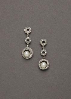 Davids Bridal earrings!