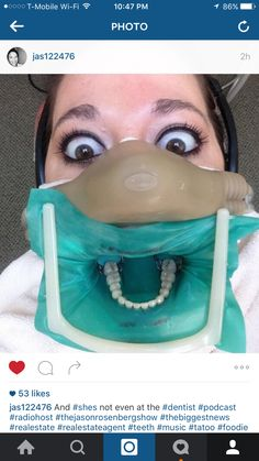 AND SHE'S NOT EVEN AT THE DENTISTS OFFICE… Funny Instagram Posts, Funny Posts, Picture Mix, Dental, Hilarious, Dentists, Entertaining, Real Estate, Pictures