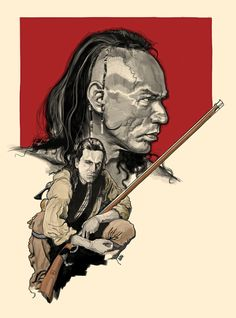 the last of the mohicans by roby amor on deviantart - Movie Live Action, Daniel Day Lewis Movies, Survival Film, Woodland Indians, Movie Poster Art, Film Posters, Adventure Movies, Great Love Stories, Western Movies