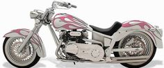 custom painting girly pink harley bikes | Discover ideas for all your projects and interests