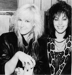 LITA & JOAN - I love them in ANY ERA!!