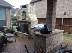 Fireplace is the most appropriate option for outdoor cooking contrary to indoor kitchen in Fort Worth TX. When it comes to outdoor kitchen construction it is best to be casual. Outdoor Entertaining, Outdoor Cooking, Outdoor Kitchens, Outside Patio, Landscaping Company, Types Of Plants, Fort Worth, Small Spaces, Things To Come