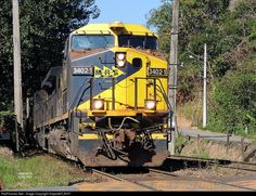 RailPictures.Net Photo: MRS 3402-1 MRS Logistica GE AC44i at Mendes RJ, Brazil by ViajanteFLA!!!!!!