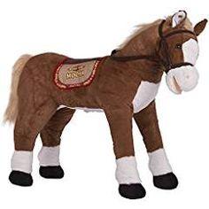 Rocking Horses 19024: Rockin Rider Lucky Talking Plush Spring Horse ...