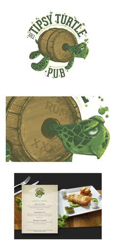 Logo: Tipsy Turtle on Behance