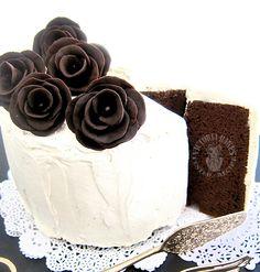 Toblerone chiffon cake
