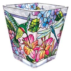 Amia Petite Votive, Hand-Painted Glass with Colorful Hydrangea and Hummingbird Design, 3 Inches Tall by Amia, http://www.amazon.com/dp/B005PR1PR0/ref=cm_sw_r_pi_dp_H75Xrb0MWA8Y0