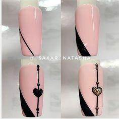 Semi-permanent varnish, false nails, patches: which manicure to choose? - My Nails Nail Art Hacks, Nail Art Diy, Easy Nail Art, Nail Manicure, Diy Nails, Nail Polish, Nail Art Designs Videos, Gel Nail Designs, Nagellack Trends