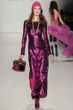 Betsey Johnson NYFW autumn-winter 2014/2015