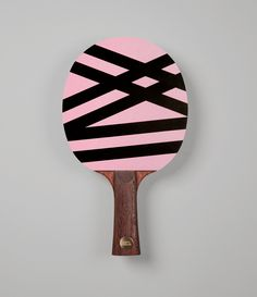 Don't get fooled by the warm pink colour. Dazzle, disenchant, and confuse your opponent by design. With its unbending stripes – mimicking an animalistic camouflage, Dazzle creates tricky illusions and obliterates all your opponents' possible expectations of victory. Dazzle has been designed for the sharp player – be prepared to command considerable attention.  _________________  Hand made FCS certified wood Born in Switzerland Designed in Berlin Berlin, Table Tennis Racket, Pink Color, Colour, The Fool, Spice Things Up, Illusions, Stripes, Paddles