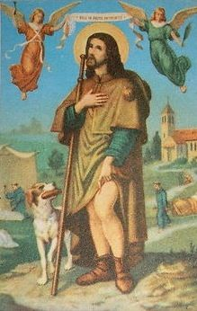 Patron Saint Of Dogs - St Roch