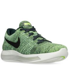 outlet store 2978b 0b5e6 Nike Men s LunarEpic Low Flyknit Running Sneakers from Finish Line Men -  Finish Line Athletic Shoes - Macy s