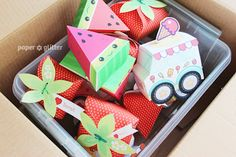 Free Printable, Party Printable, Kawaii, Paper Crafts, Kids Crafts, Stationery, Printable