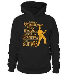 grandpas plays guitar