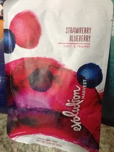 Latest dried berries at Starbucks-ARONIA BERRY would be perfect.