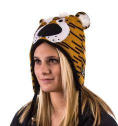 Mizzou Tigers Gold/Black Truman Head Knit Hat